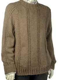 Dan raglan pullover