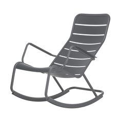 Schaukelstuhl Bill schwarz/rot   rocking chair   Pinterest ...
