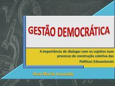 TEMAS DE PALESTRAS: GESTÃO DEMOCRÁTICA