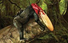 Une campagne choc et très visuelle contre la déforestation et ses méfaits, à commencer par les conséquences désastreuses sur les animaux, imaginée parG
