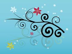 Free Flower Graphics vector