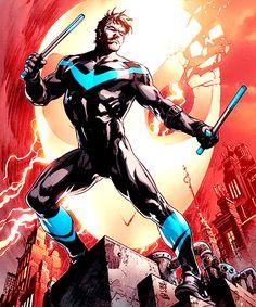 "grayson-army: ""Nightwing #1 Variant cover by Ivan Reis & Joe Prado """