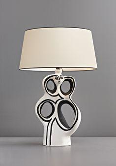 PHILLIPS : UK050110, Georges Jouve, Table lamp