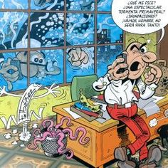 Mortadelo y Filemon oficina, Comic español