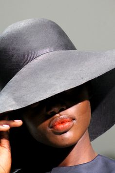 Ajak Deng. Her lips are everything.