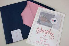 Faye & Co. | Daylin Birth Announcements