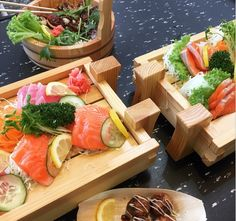 Mr Sushi Donburi Bar Mr Sushi, Cheese, Bar, Food, Eten, Meals, Diet
