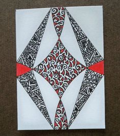 Web Abstract Original ACEO by ellemardesigns on Etsy, $8.00