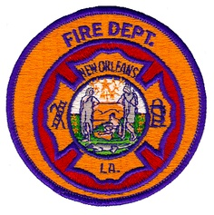 New Orleans Fire Department Patch