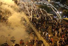 Photos from Hong Kong's Umbrella Revolution via Huffington Post U.K. Photo's by Associated Press