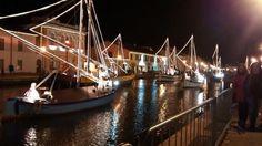 Porto Canale, Cesenatico, Italy