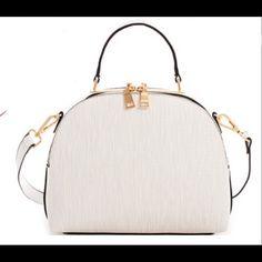 Cute Princess Chic Satchel with long Strap Cute satchel to compliment your summer wardrobe! Faux Leather, Zip Top Closure, Back Zip Pocket, Detachable Shoulder Strap, 10.5(W) X 4(D) X 9(H) Bags Satchels