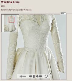 kate middleton wedding dress Kate Middleton Wedding Dress, Sarah Burton, Wedding Attire, Bridal Dresses, Alexander Mcqueen, Essentials, Bride, Lace, How To Wear