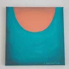 V hlubině, akryl na plátně, 30x30 cm