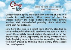 """wholly unholy things""  from CHERRY ON TOP, Book 3 of the Close to Home series. Release date: March 2015"