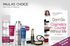 Premium skincare and makeup products brought to you by bestselling skincare specialist Paula Begoun.