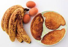 Naleśniki bananowe (paleo, z mąką kokosową)