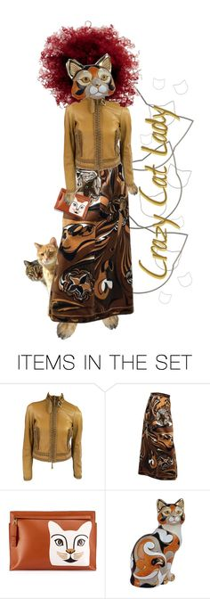 """Crazy Cat Lady"" by kbarkstyle ❤ liked on Polyvore featuring art"