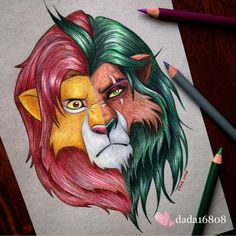 DADA is a multi talented artist who loves drawing with color pencils and is a huge Disney fan. Dada draws Disney character mashups using colored pencils. Each drawing takes about ten hours. DADA is… Images Disney, Art Disney, Disney Kunst, Films Disney, Disney Characters, Cute Disney Drawings, Cute Drawings, Drawing Sketches, Artwork Drawings