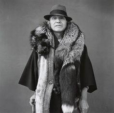 Japanese portraits by Hiroh Kikai Hiroshi Sugimoto, Tokyo, Image Makers, Portraits, Portrait Photography, Cool Photos, Fur Coat, The Incredibles, Black And White