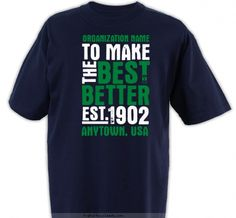 To Make The Best Better - 4-H Club Design SP2815