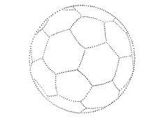 Piłka nożna grafomotoryka
