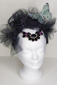 Headpiece *Black Glamour*