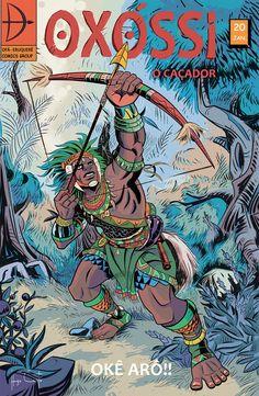 As grandes histórias da mitologia Yorubá levadas para o universo dos Quadrinhos.