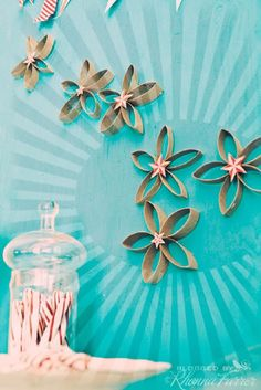 Best DIY Ways to Transform Toilet Paper Rolls Into Wall Art