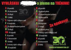 Workout Diary by Domi a Sári: května 2016