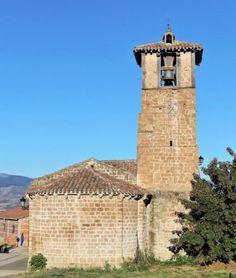 Ledesma de la Cogolla, La Rioja - Iglesia románica de Santa María