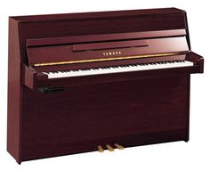 Yamaha b1 SG2 Silent Piano In Polished Mahogany Finish