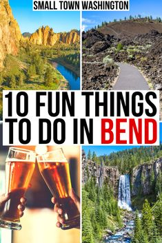 Planning a trip to Bend? Here are the best things to do in Bend Oregon! Fun things to Do in Bend winter | Top things to do in Bend summer | Cool things to do in Bend fall | free things to do in Bend | Bend bucket list | Bend Oregon | Bend restaurants | Bend photography | Downtown Bend | What to do in Bend | things to do in fall in Bend | Bend Oregon hikes | Bend Oregon summer | Bend Oregon breweries | where to stay in Bend Oregon | hikes near Bend Oregon | Bend travel guide | Bend Oregon travel Oregon Travel, Travel Usa, Travel Inspiration, Travel Ideas, Travel Guide, Free Things To Do, Fun Things, Small Towns, Travel Destinations