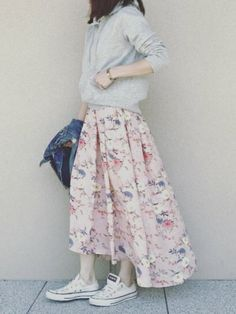 Asian Street Style, Japanese Style, Midi Skirt, Women's Fashion, Skirts, How To Wear, Inspiration, Outfits, Vestidos