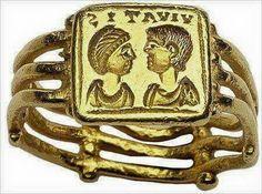 Bizans dönemi, portreli evlilik yüzüğü
