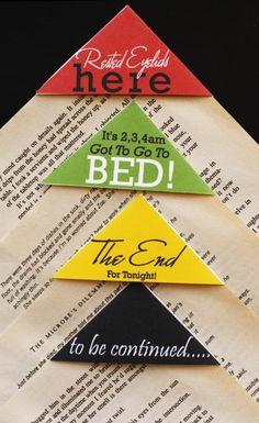 bastelideen mit papier lesezeichen selbst gestalten
