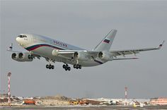 Russian presidential aircraft.