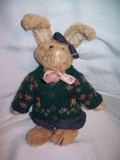 Boyds Bears All Dressed Up Retired Boy Bunny Rabbit