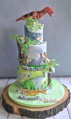 A Dinosaur Adventure by Sumaiya Omar - The Cake Duchess SA