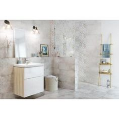 CONCRETE STYLE Double Vanity, Alcove, Concrete, Divider, Bathroom, Furniture, Home Decor, Style, Scrappy Quilts