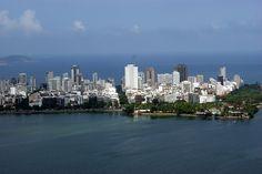 Rio de Janeiro 12 (Ipanema 1 - aerial view from Rodrigo de Freitas Lake) - Brazil
