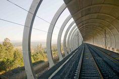 Túnel del Ardilleiro de la Línea de alta velocidad Ourense-Santiago-A Coruña