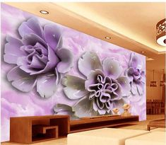 Free Animated Desktop Wallpaper Papel De Parede Purple Roses 3d Backdrop Non Woven Wallpaper New Large Murals Costomize Size Free Fast Shipping 471q!! Free Animated Wallpaper From Nice_co_ltd, $43.81| Dhgate.Com