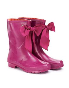 Joules MILLIE WELLY Womens Short Wellies, Pink. Our new mid-height wellies are certainly not short on style. Keep your fingers crossed for rainy days and add a glamorous twist to any outdoor activity.