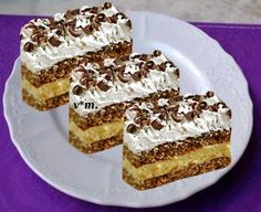 Romanian Desserts, Christmas Sweets, Nutella, Creme, Sorbet, Cake Recipes, Cheesecake, Food And Drink, Cooking Recipes