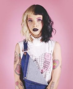 #1 Melanie Martinez Valfre Outfit: Call me Muscle Tee & Luna Choker                                                                                                                                                     More