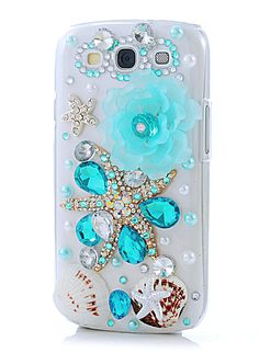 Luxury Rhinestone Diamond Samsung S3 case.... I have this phone and would love this case.