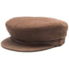 Maison Michel New Abby suede cap (7.275 ARS) ❤ liked on Polyvore featuring accessories, hats, brown, headwear, maison michel, cap hats, maison michel hat, baker boy, newsboy hat and news boy cap