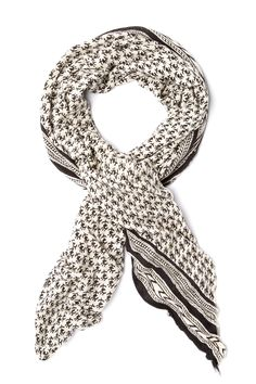 Jersey Printed Scarf by Free People on @nordstrom_rack