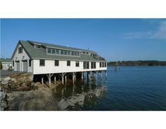 4 Dixon Road, Freeport, ME 04032 One of the most singular properties on the coast of Maine. This extraordinary home is not only waterfront, it is ON the water! Rich with history, offering views from every room. Custom details throughout. Private dock & 2 guest cottages. Do you have questions about living and working in the Greater Portland Maine area?  Please contact us at The Hatcher Group and we will be happy to assist you! http://www.johnhatcher.us